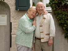 Waltraud und Oskar Miller leben seit Jahrzehnten in der Barbarasiedlung